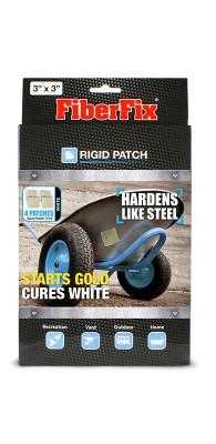 FiberFix Rigid Patch 7,5x7,5 cm paikkalappu